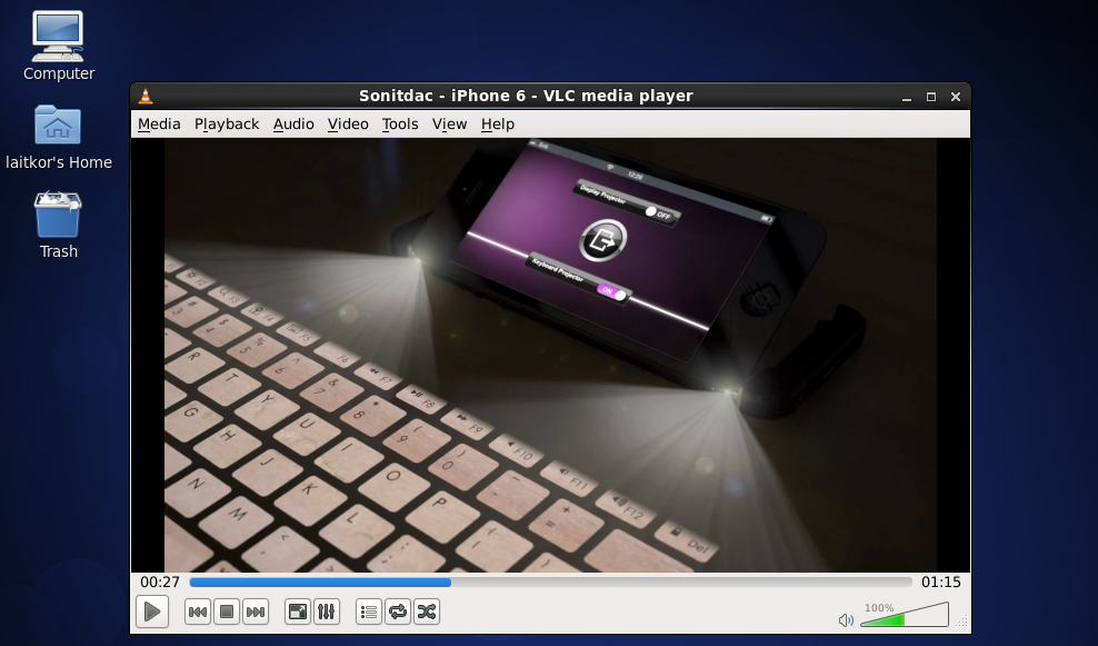 VLC-on-Linux