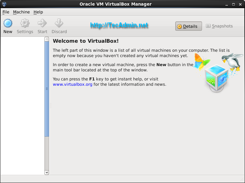 How to Install Oracle VirtualBox 6 0 on CentOS/RHEL 7/6 - TecAdmin