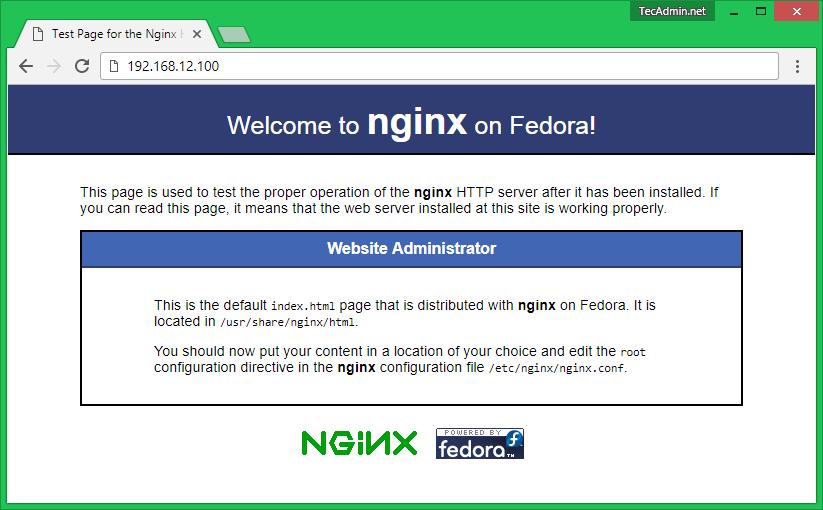 Install Nginx on CentOS