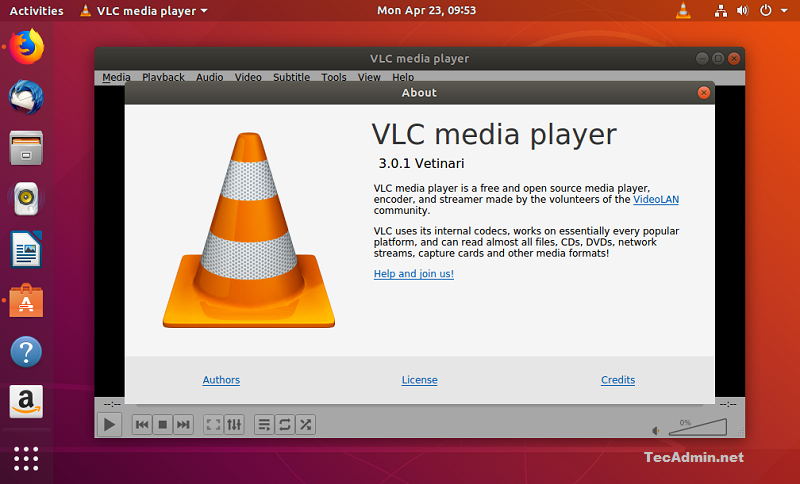 How To Install VLC 3 0 Media Player On Ubuntu 18 04, 17 10 & 16 04 LTS