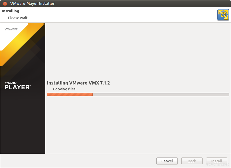 Install VMWare Player