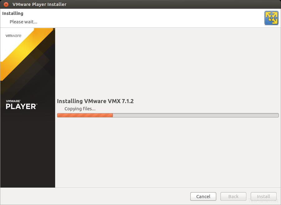 Install VMWare Player