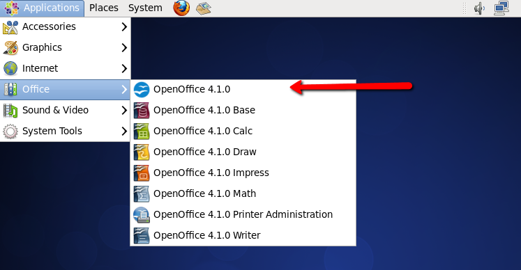 How to Install Apache OpenOffice 4 1 on Fedora 30/29 & CentOS 7/6