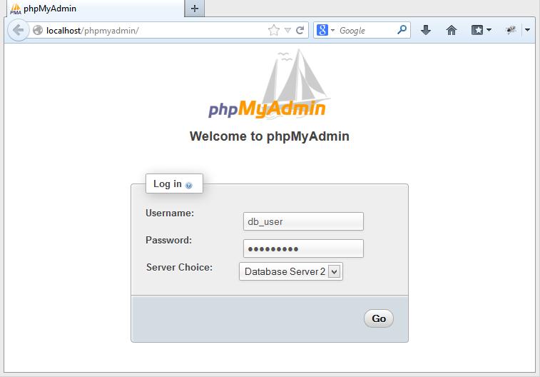 phpmyadmin-multiplehosts