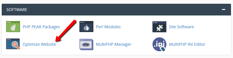 Enable Apache Gzip Compression (mod_deflate) in cPanel