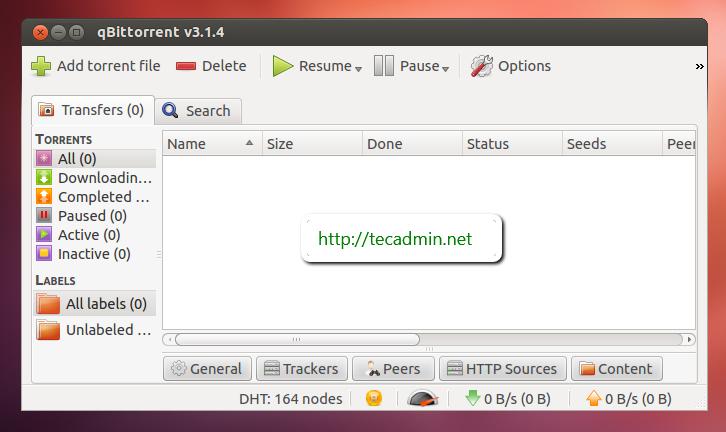 How to Install qBittorrent 4 0 in Ubuntu using PPA - TecAdmin