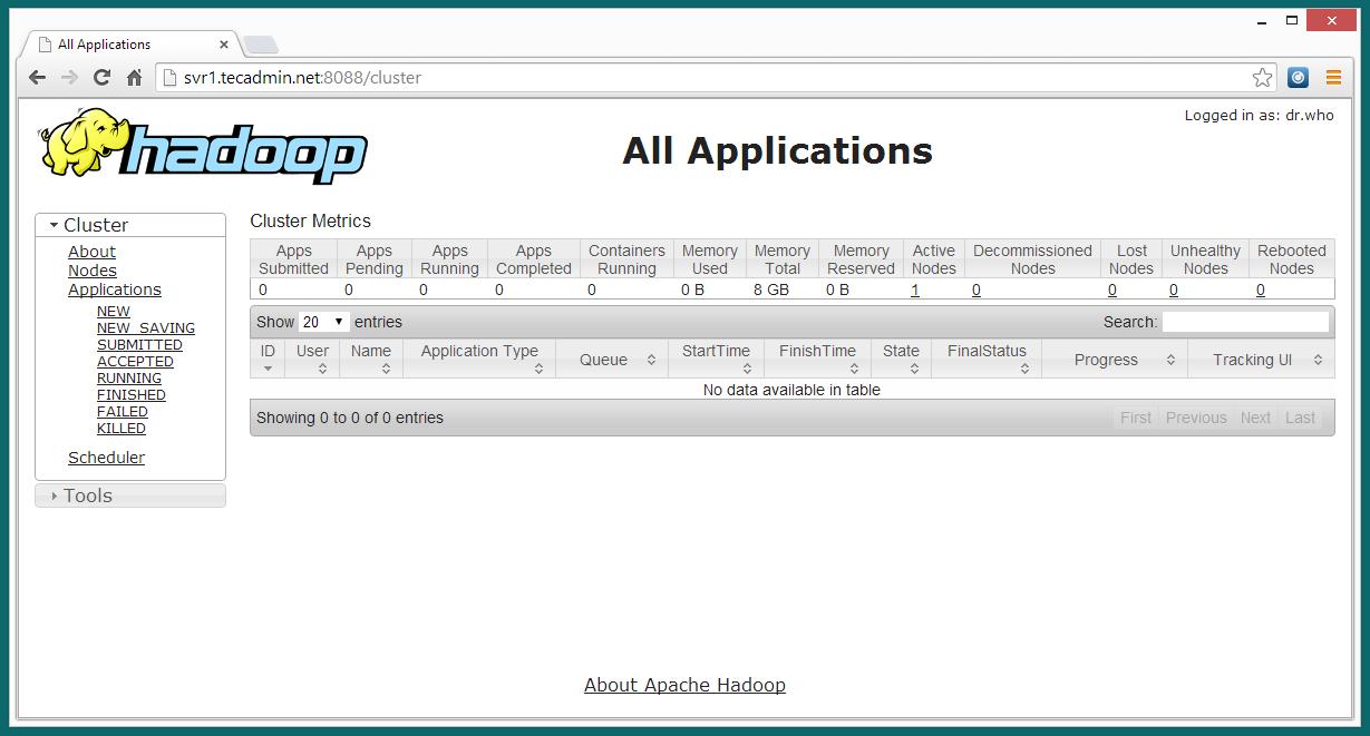 hadoop-2.4.0-cluster