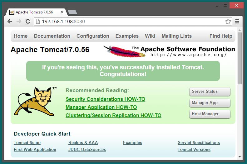 apache tomcat 7.0.12