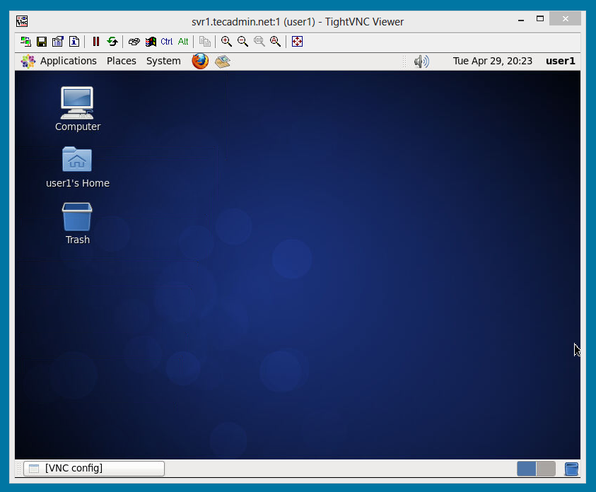 How to Setup VNC Server (Linux Remote Desktop Access) on