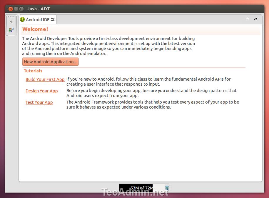 Complete Setup Guide for Android SDK/ADT Bundle on Ubuntu