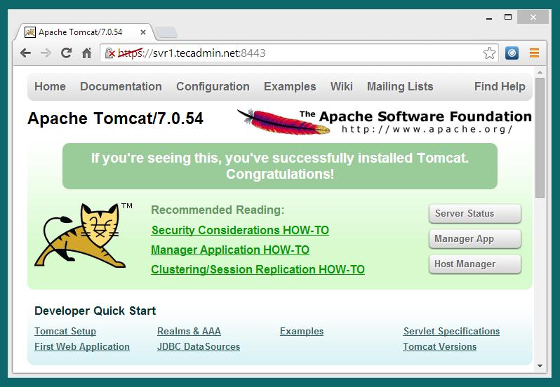 tomcat-with-ssl