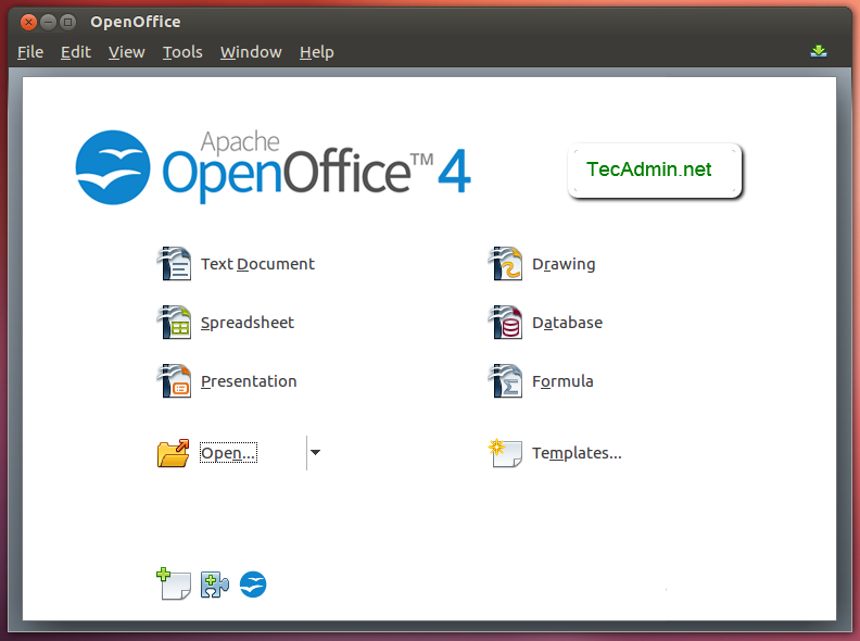 How to Install Apache OpenOffice 4 1 on Ubuntu, Debian