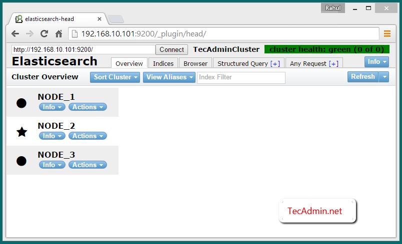 Elasticsearch multinode cluster