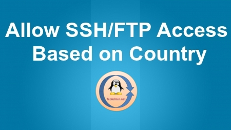 country based ssh access
