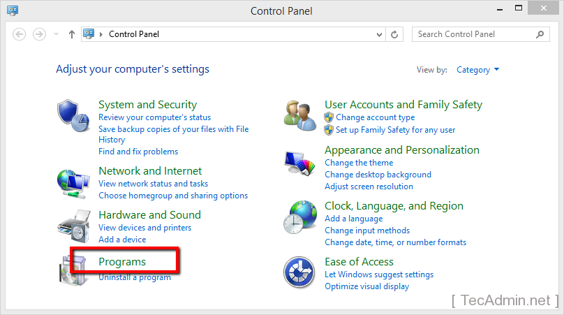Install IIS on Windows 1
