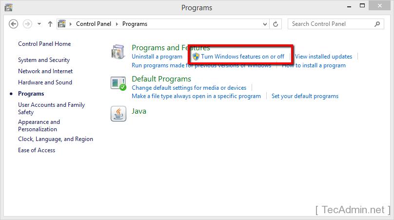 Install IIS on Windows 2
