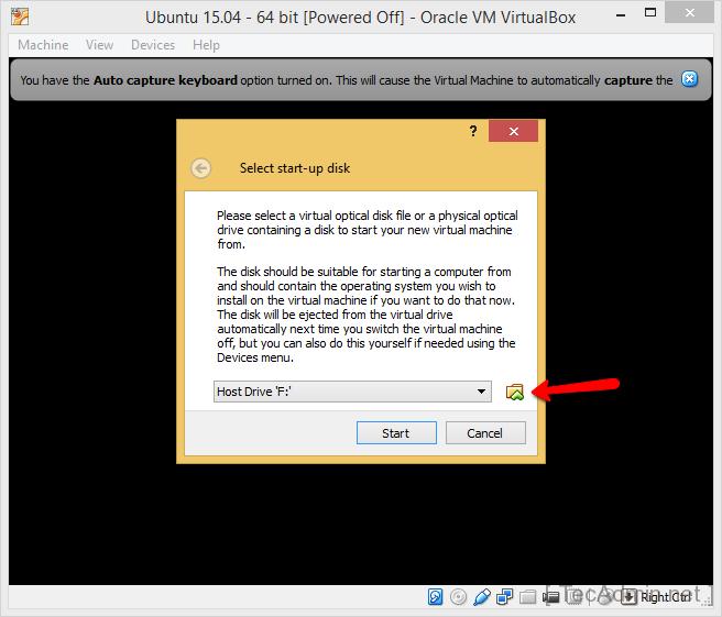 Install Ubuntu on VirtualBox Step 8
