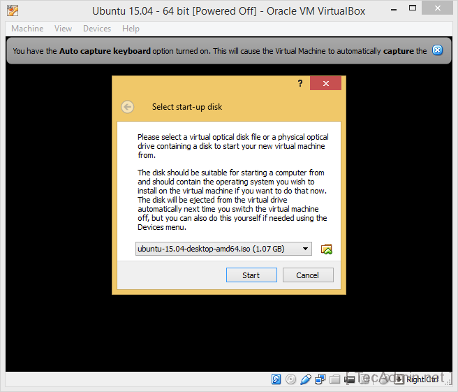 Install Ubuntu on VirtualBox Step 9