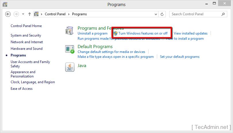 enable telnet on windows 4