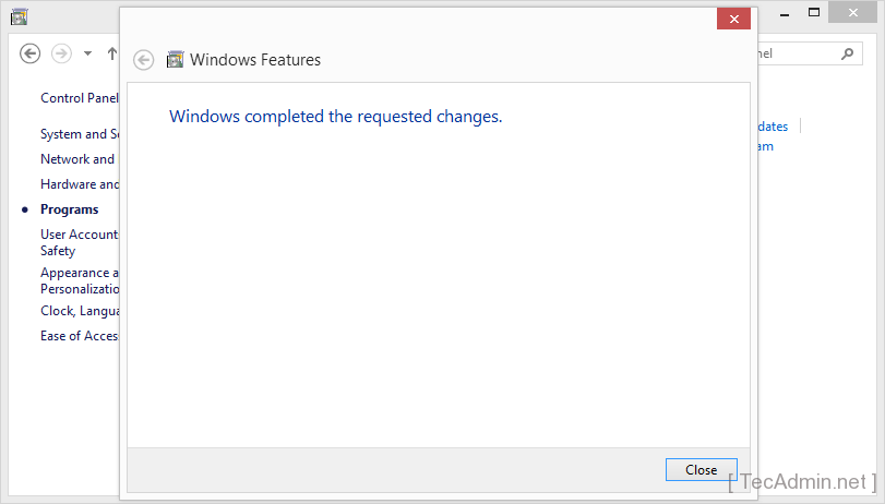 enable telnet on windows 6