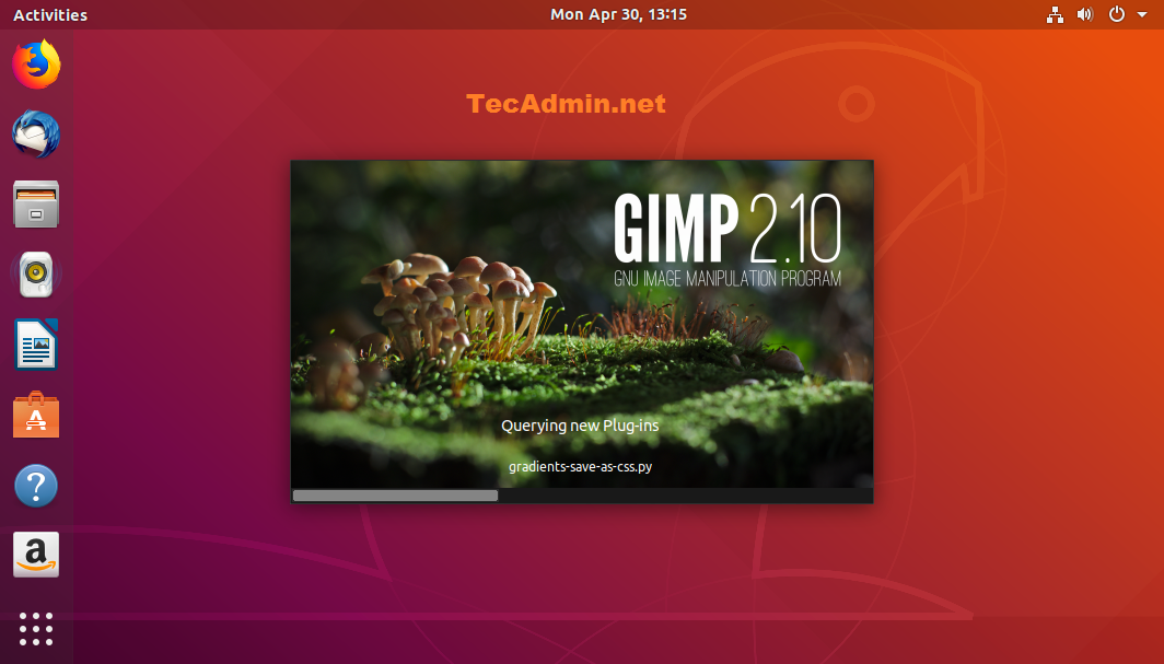 How To Install GIMP 2 10 on Ubuntu 18 04 LTS - TecAdmin