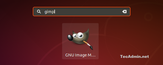 How To Install GIMP 2 10 on Ubuntu 18 04 LTS - TecAdmin