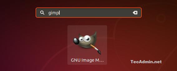 Installing Gimp on Ubuntu