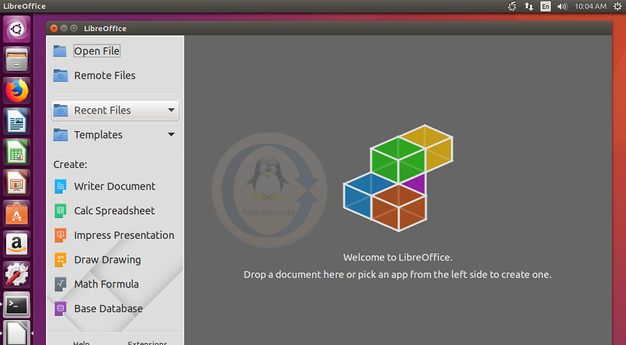 How to Install Libreoffice 6 2 on Ubuntu 18 04 & 16 04 via PPA