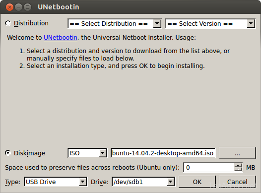 Create Bootable Linux USB
