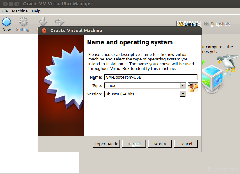 How to Boot from USB Drive in VirtualBox on Linux
