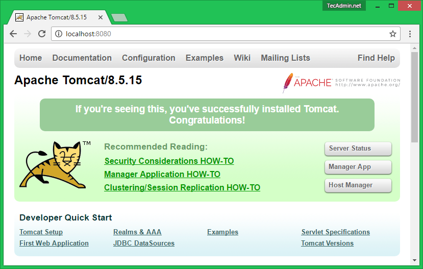 install tomcat on linux