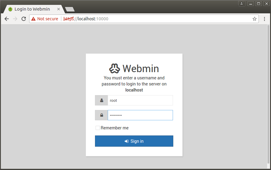 Install Latest Webmin 1