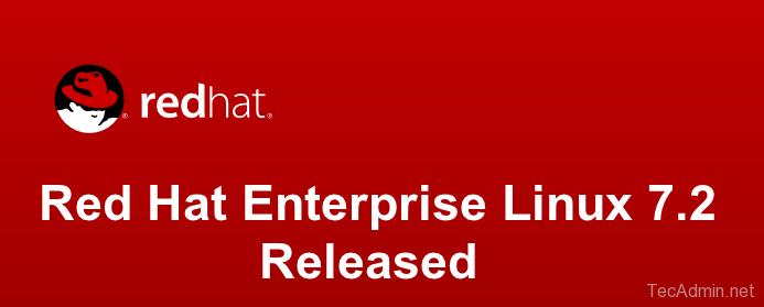 Red Hat Enterprise Linux 7.2
