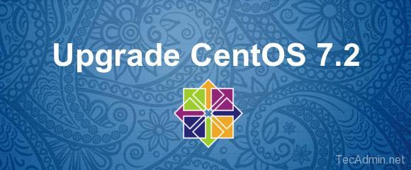 Upgrade Centos 7