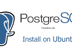 Install PostgreSQL Ubuntu