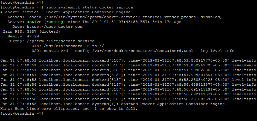 Install Docker on Fedora