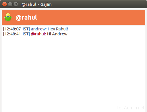 gajim-chat-between-two-users