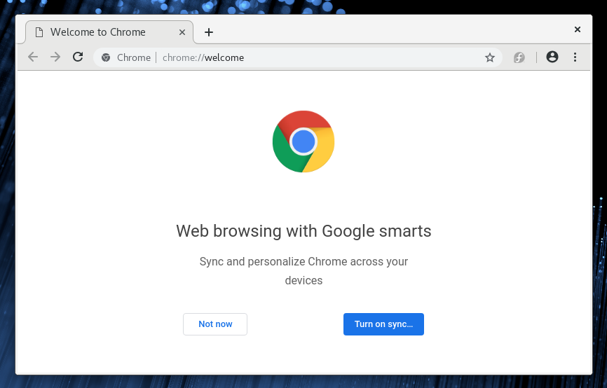 install Google Chrome on Fedora