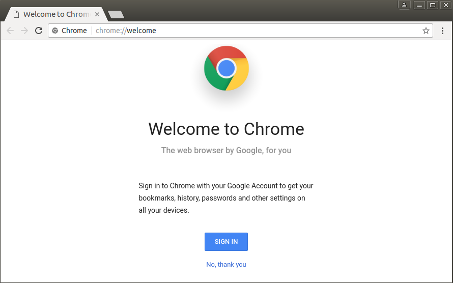 Install or Upgrade Google Chrome