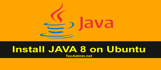 Install oracle Java 8