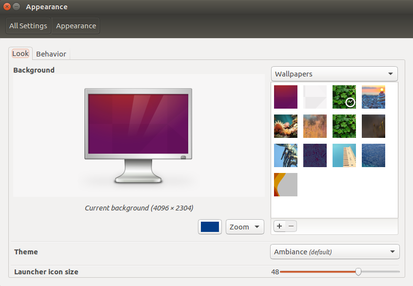 change-look-in-ubuntu