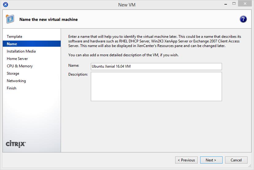 install-ubuntu-1604-in-xs-2