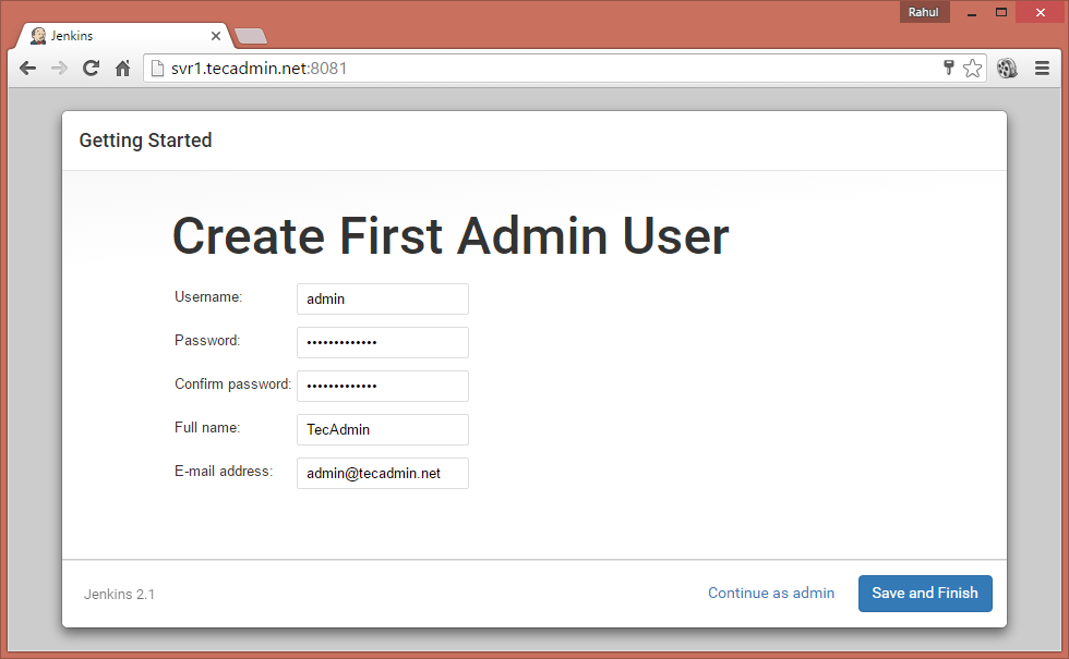Install and Use Jenkins 3