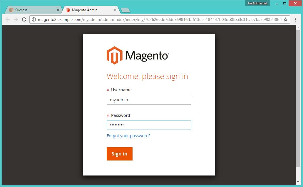 Install Magento2 using Composer on Ubuntu 16 04 – TecAdmin