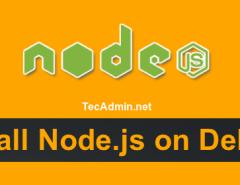 Install Latest NodeJs & NPM on Debian