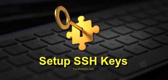 How To Setup SSH Keys for Passwordless Login on Linux - TecAdmin
