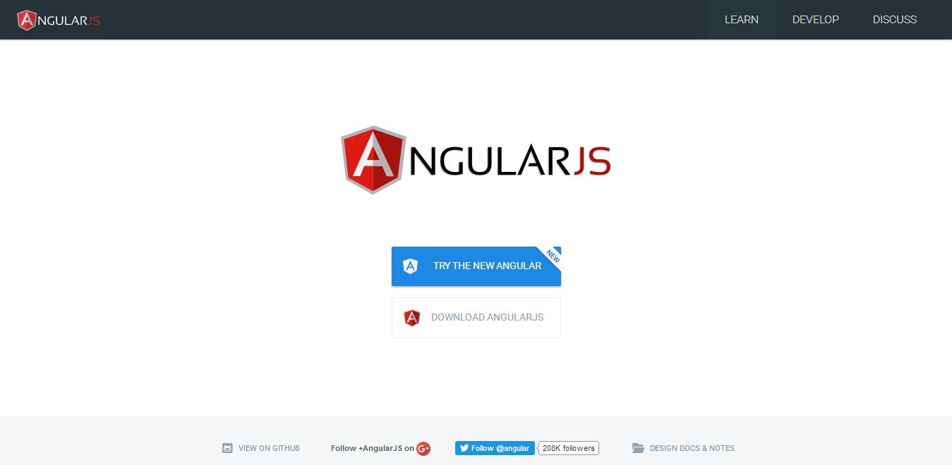 Angular JS - Best JavaScript Frameworks for Mobile