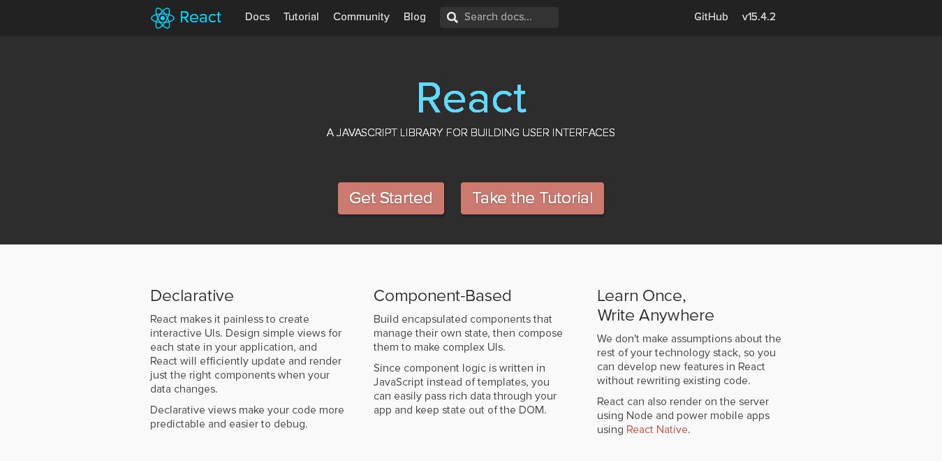 React Native - Best JavaScript Frameworks for Mobile