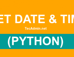 date & time in python