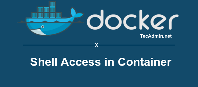 Docker Get Shell Access